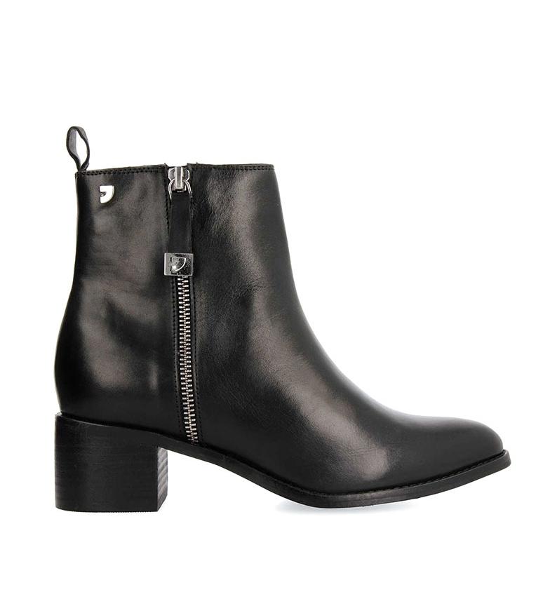 Comprar Gioseppo Botines de piel 56653 negro  -Altura tacón 5,5cm-
