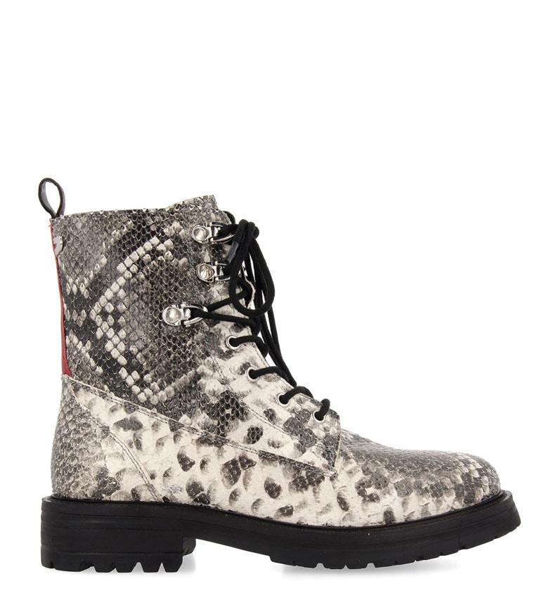 Comprar Gioseppo Straubing leather boot white, black