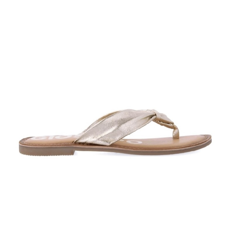 Gioseppo Sandalias de piel Minetto dorado