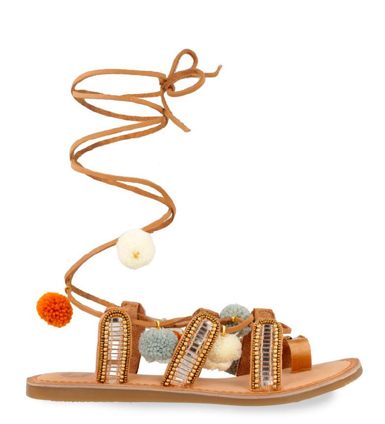 Comprar Gioseppo Sandalias de piel Nayeli marrón