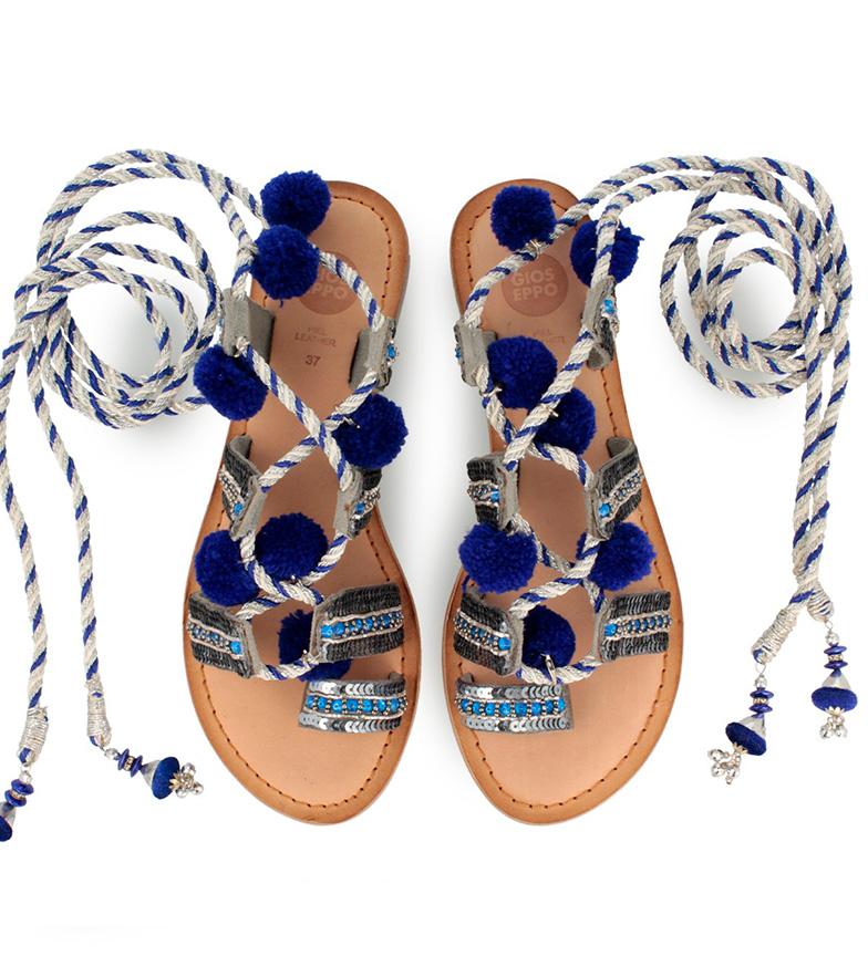 Yurak Yurak Yurak Gioseppo Sandalias Sandalias Gioseppo plateado Yurak Gioseppo azul Gioseppo azul plateado azul Sandalias plateado Sandalias AqxxfSH