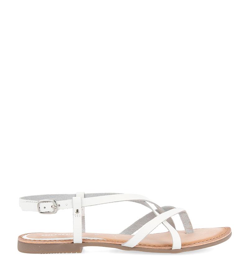 Comprar Gioseppo Dini leather sandals white