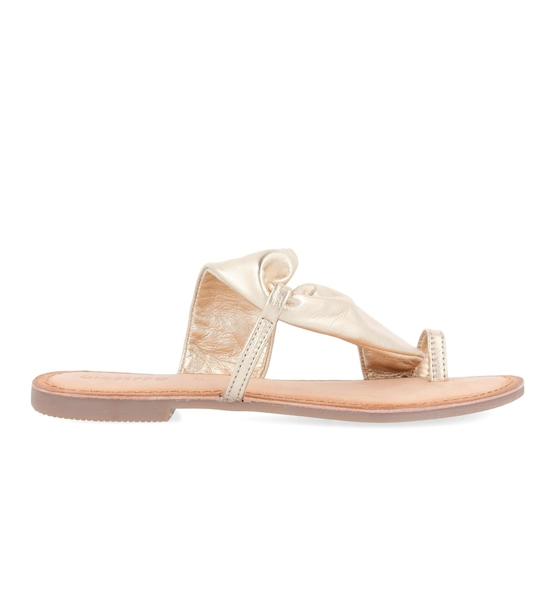 Comprar Gioseppo Friuli Golden Leather Sandals