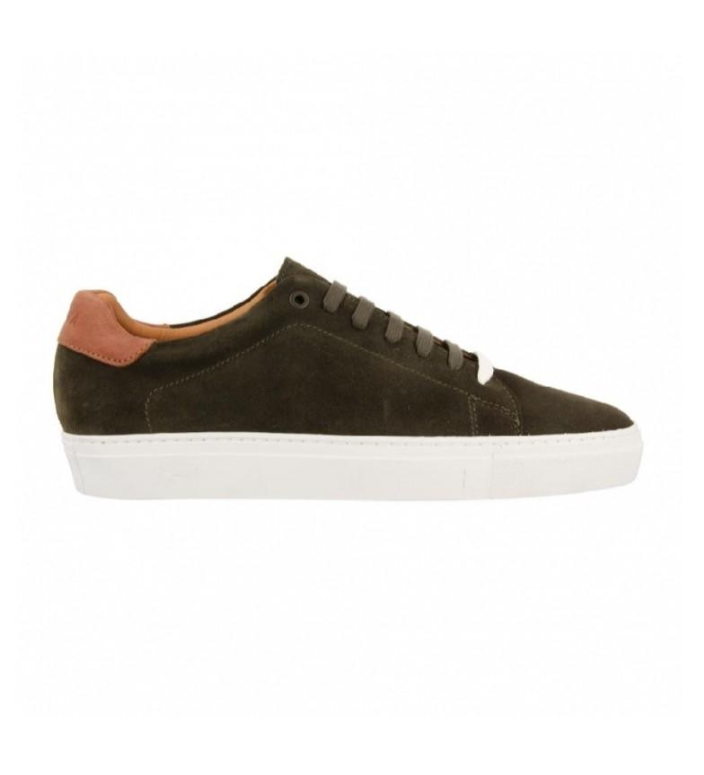 Comprar Gioseppo Palantia khaki leather sneakers