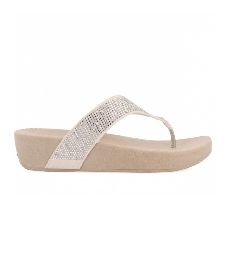 Comprar Gioseppo Infradito 59430-p beige -Altezza zeppa: 4 cm-