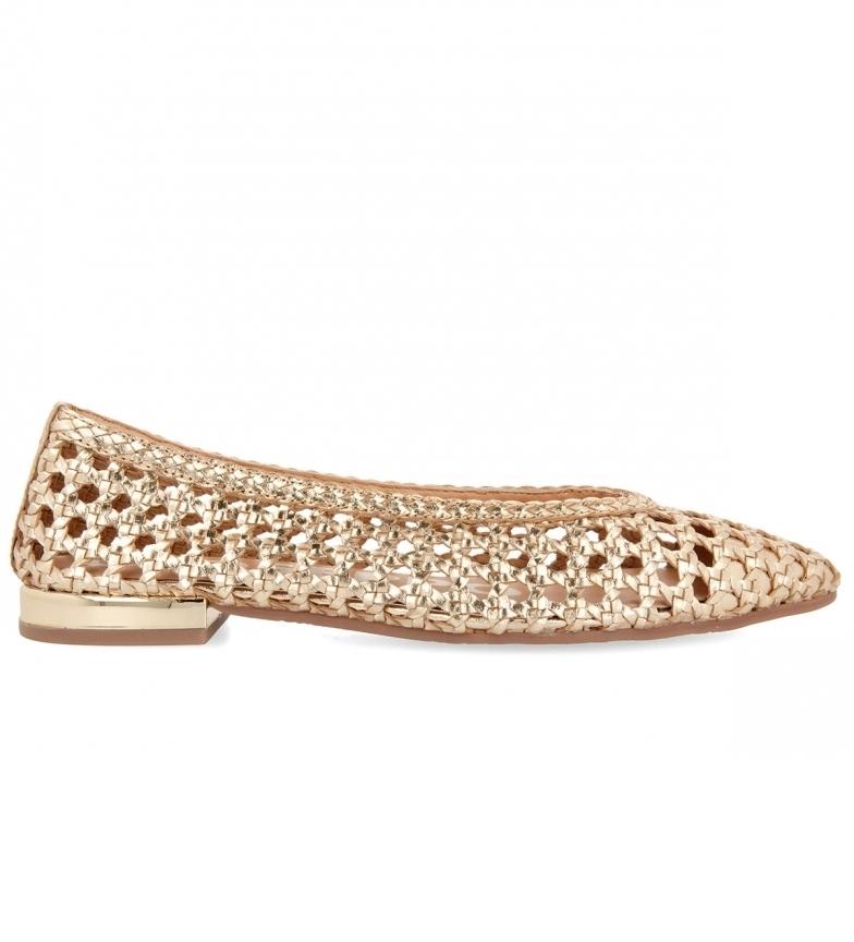 Comprar Gioseppo Ballerine Elkin in pelle oro