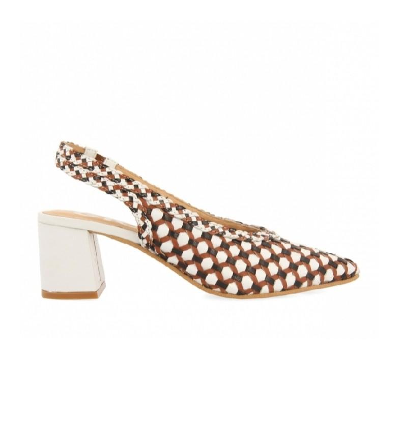 Comprar Gioseppo Sapatos de couro Gilman castanho -Altura do calcanhar 6cm