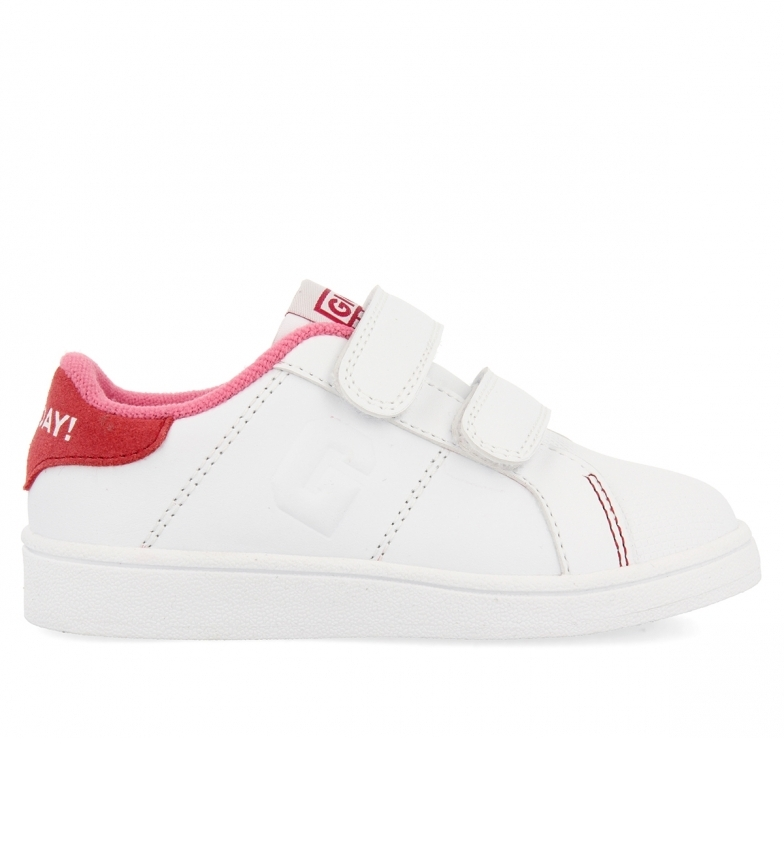 Comprar Gioseppo Chaussures en cuir Volsk blanc, rose