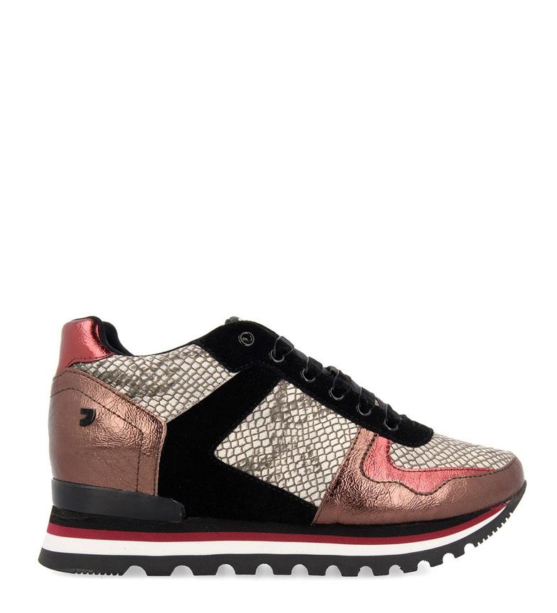 Comprar Gioseppo Sneakers in pelle Oulu multicolore-Altezza zeppa interna + suola: 5,8 cm-