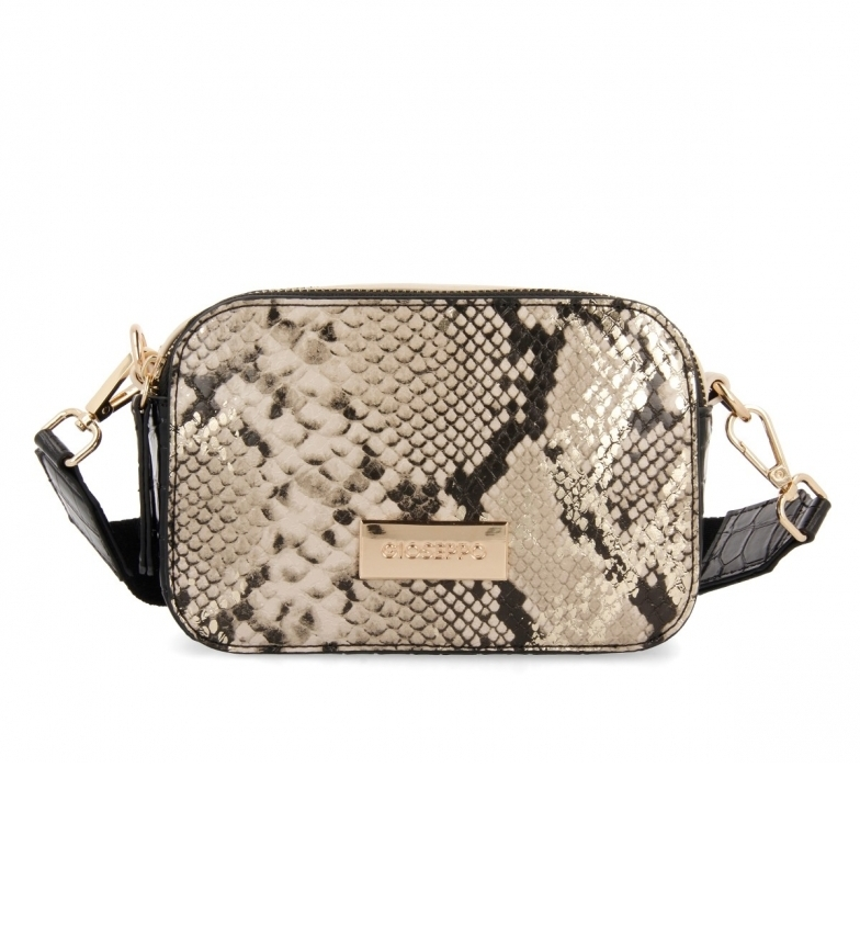 Comprar Gioseppo Damme gold shoulder bag -18x7x12cm