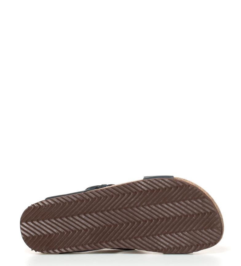 Gioseppo Sandalia de piel Pompilio chocolate