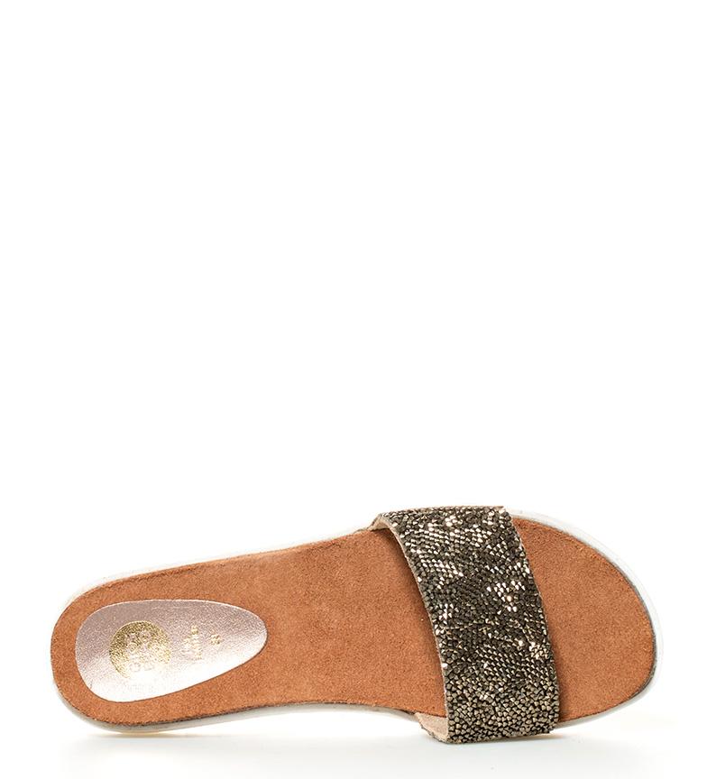 Gioseppo Sandalia de piel Vantoux bronce