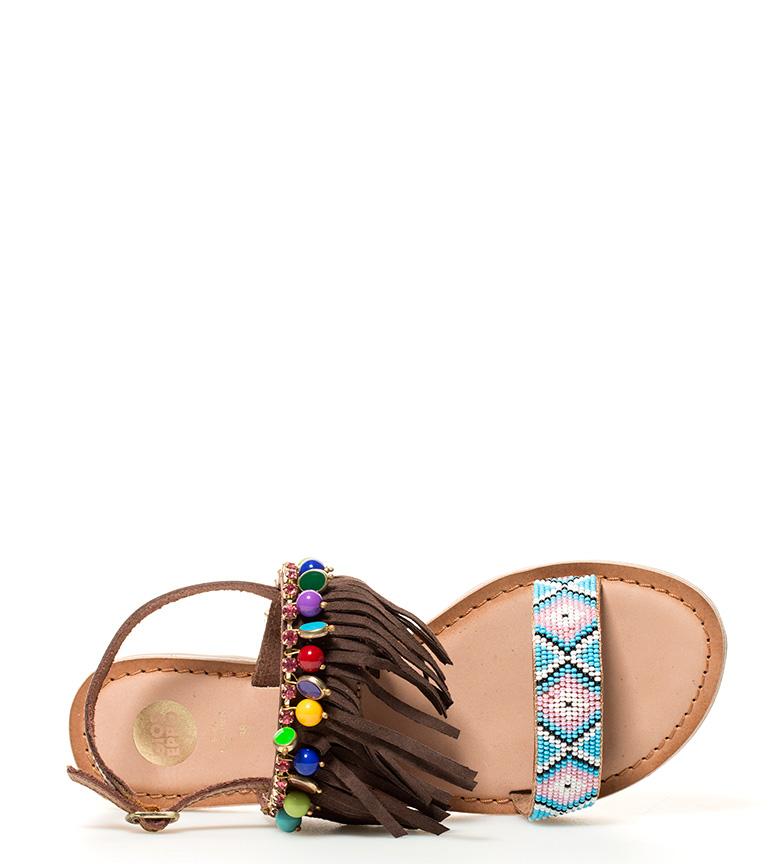 Gioseppo Sandalias Cheyenne marrón