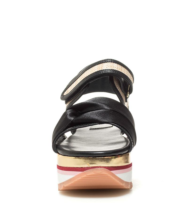 Gioseppo Sandalias Crina negro Altura plataforma: 5,5cm