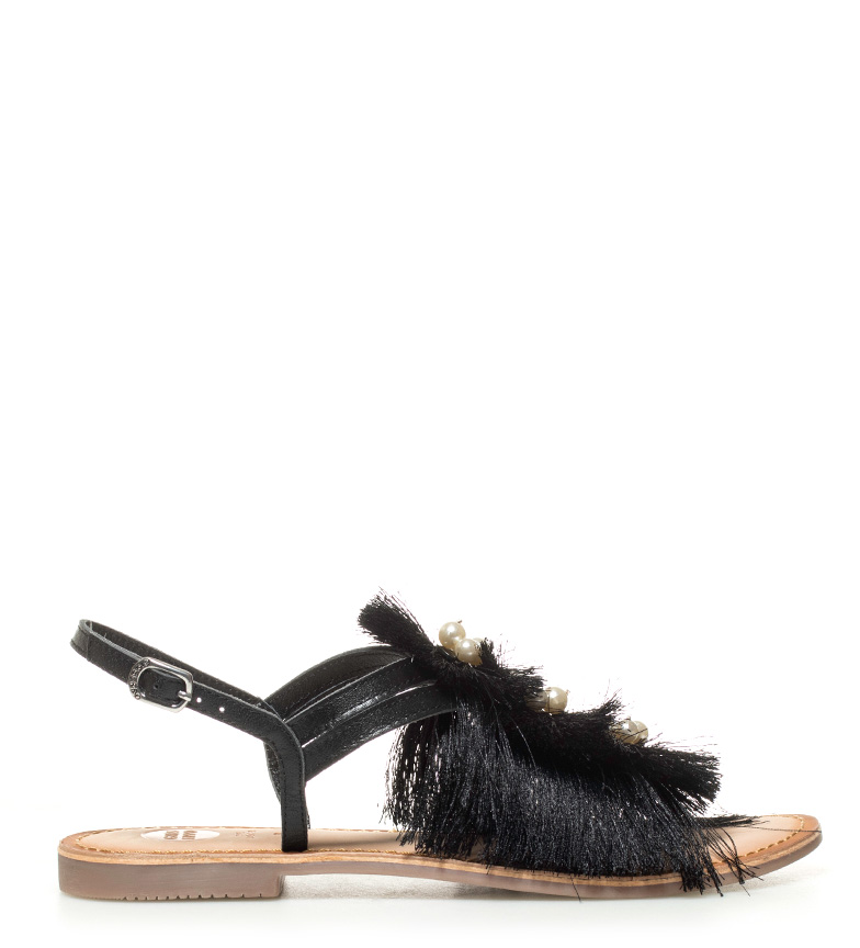 Comprar Gioseppo Amelia black leather sandals