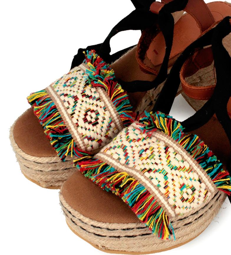 Gioseppo cuero Sandalias 10cm Estreta Altura tacón piel de multicolor PwPqvrI7