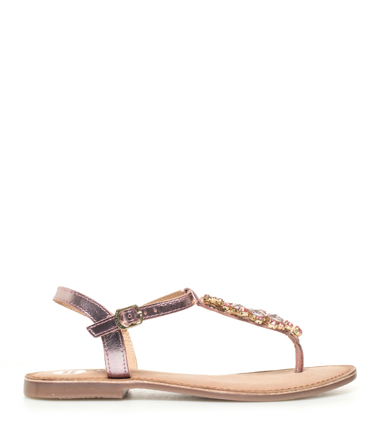 Comprar Gioseppo Pink Genesis leather sandals