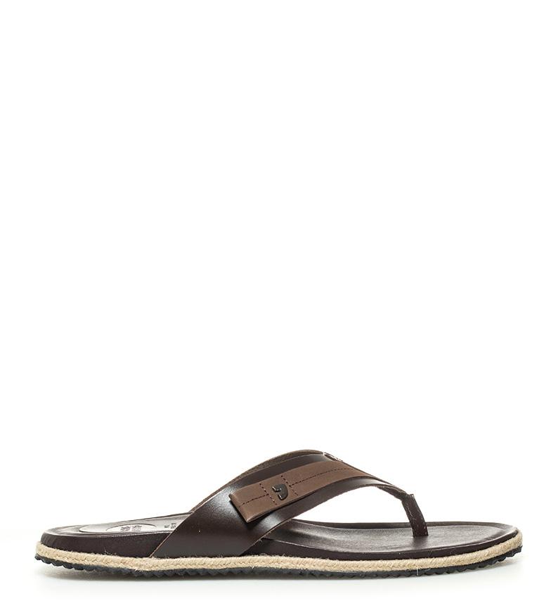 Comprar Gioseppo Sandalias de piel Jean marrón