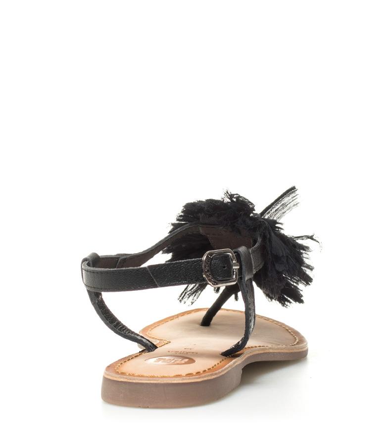 Gioseppo de Sandalias piel negro Marie fTHrTwBqY