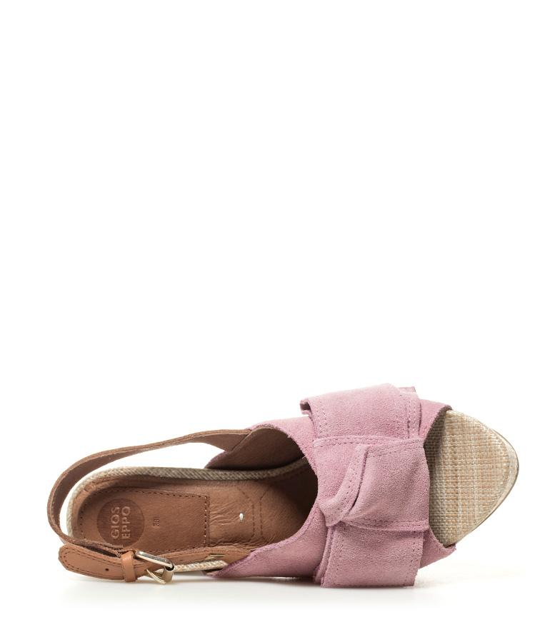 Gioseppo Marilyn Sandalias tacón rosa de Altura 5cm piel 11 rCvxwr7pq