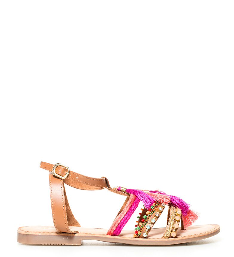 Comprar Gioseppo Nambi leather sandals brown, pink