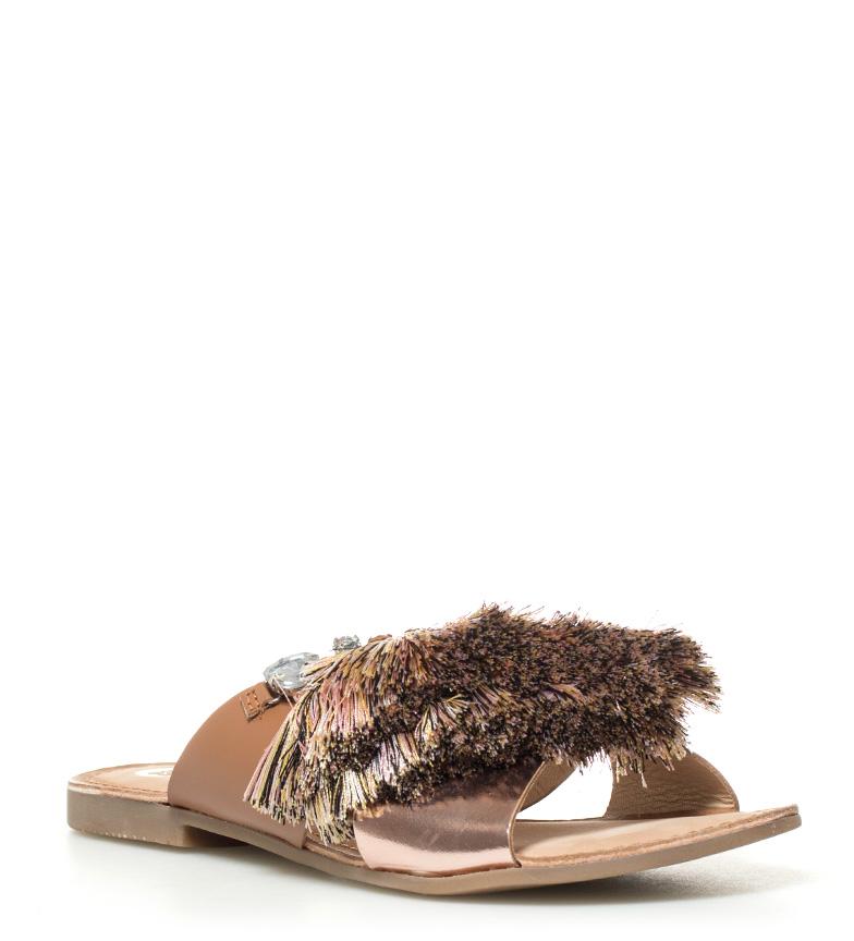 Nuria de marrón Sandalias piel Gioseppo qnfzZ1xxA