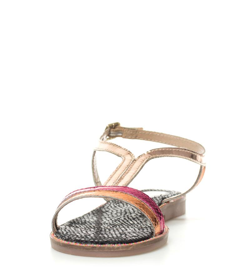 Hele verden frakt billige salg nettsteder Gioseppo Skinn Sandaler Flerfarget Rivka 1Dfmg