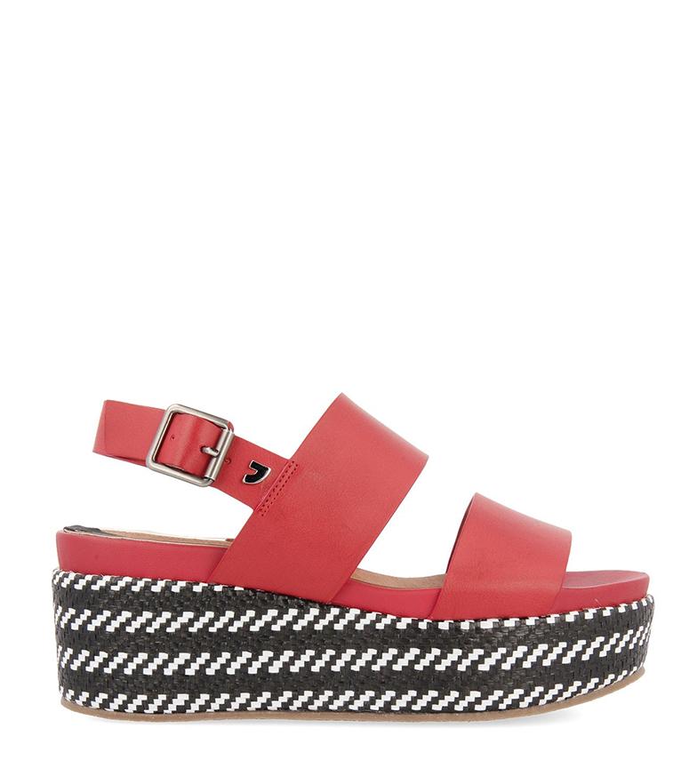 Comprar Gioseppo Sandals Serres brown - Platform height: 7cm
