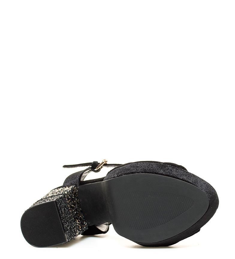 Altura Gioseppo Gioseppo 12cm Sandalias negro Vina Sandalias br br tacón gx0xqwf5
