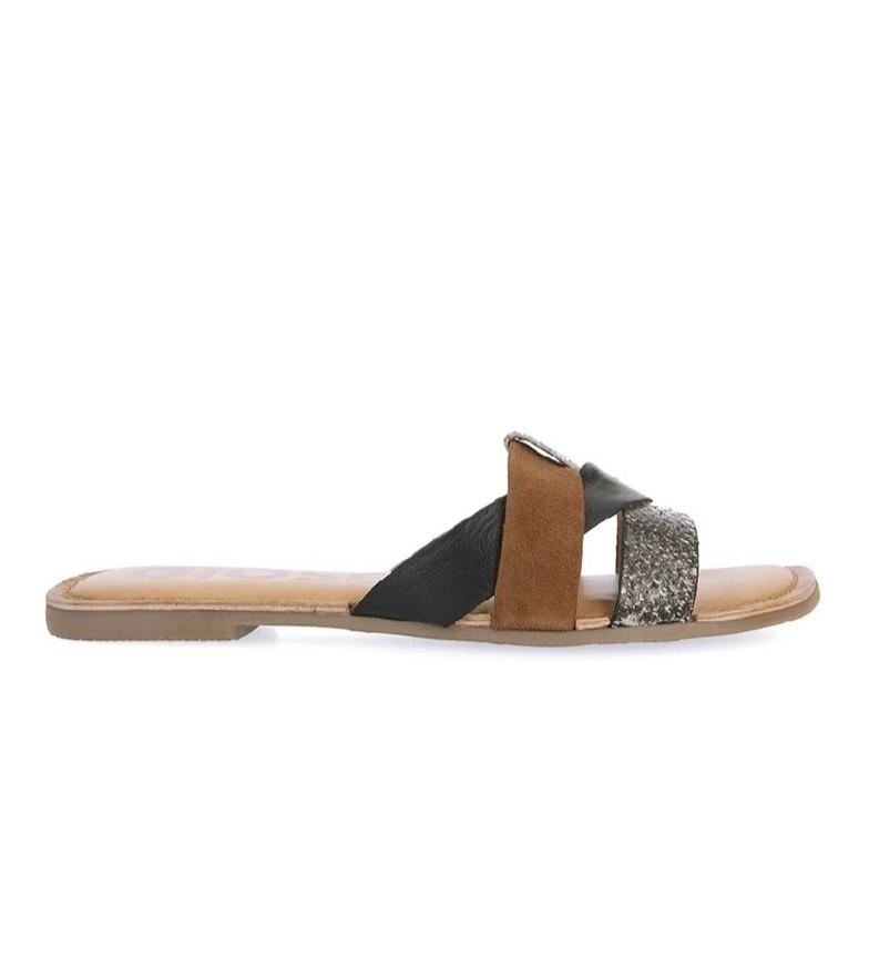 Comprar Gioseppo Lantana leather sandals multicolor