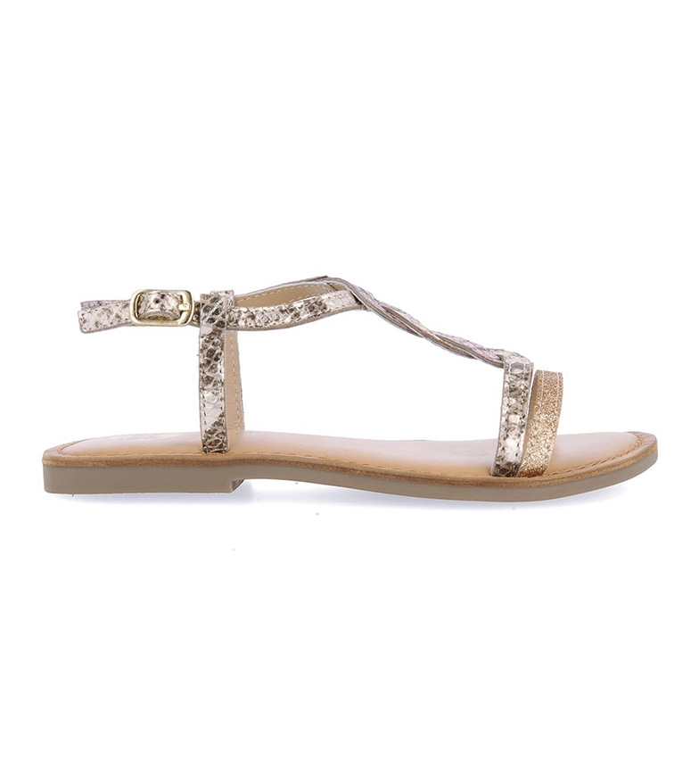 Comprar Gioseppo Leather sandals Voeren gold