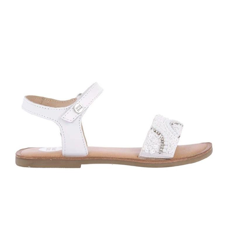 Comprar Gioseppo Leather sandals 59643 white