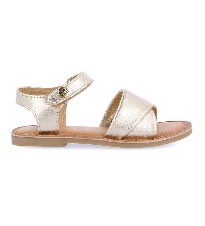 Comprar Gioseppo Leather sandals Malabar gold
