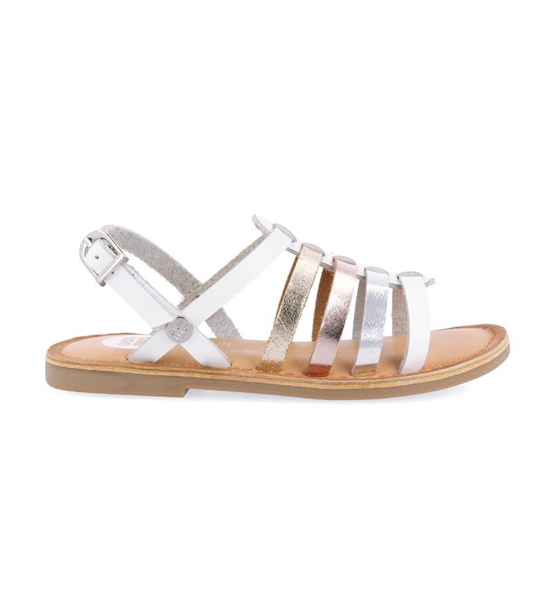 Comprar Gioseppo Fullerton sandálias de couro branco