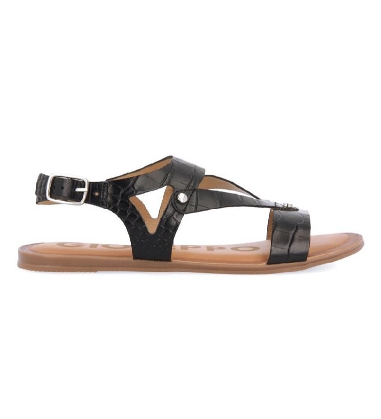 Comprar Gioseppo Sandalias de piel Reece negro