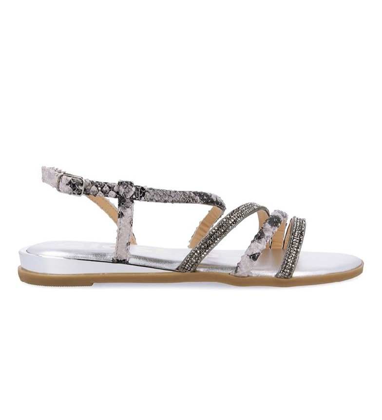 Comprar Gioseppo Frisco Lead Leather Sandals
