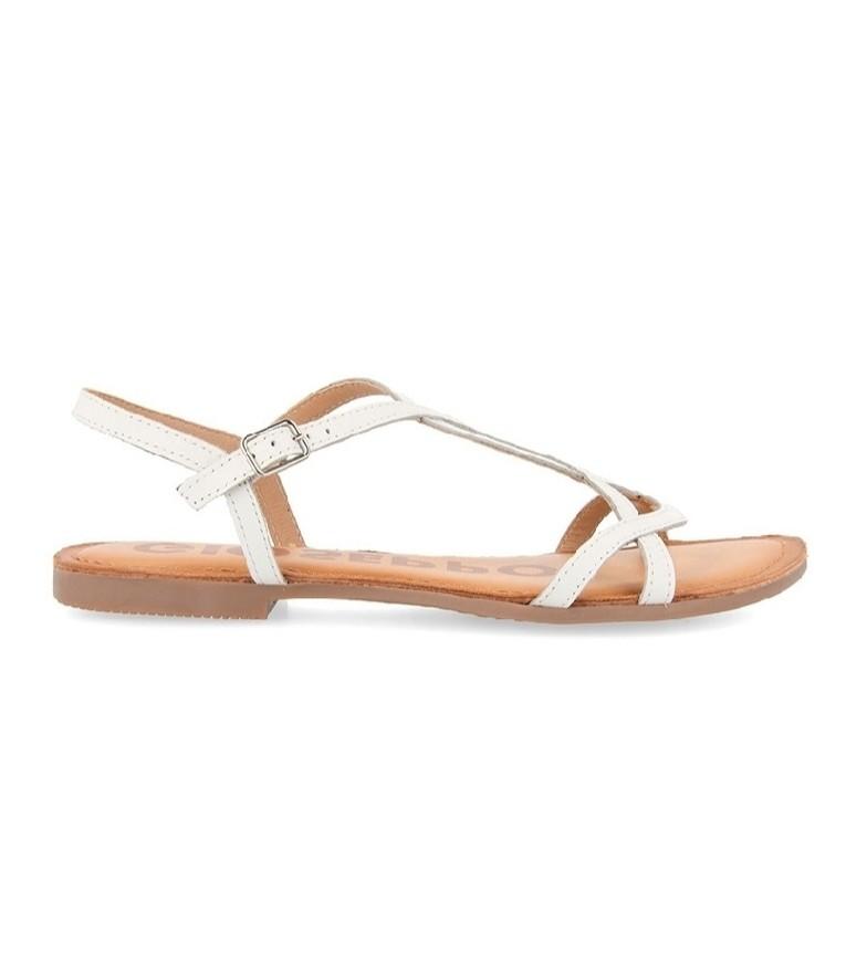 Comprar Gioseppo White Navassa leather sandals