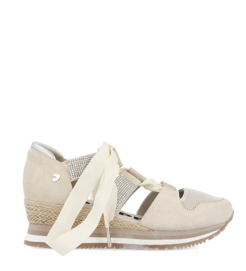 Comprar Gioseppo Sandalo in pelle 58730 bianco rotto - altezza cuneo: 5cm