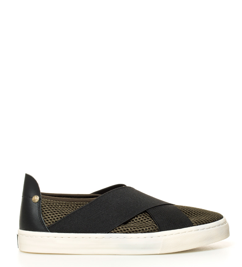 Gioseppo Slip On Routine kaki, blanco