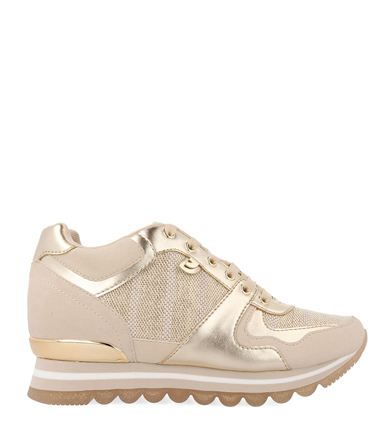 Comprar Gioseppo Sneakers Havre gold - Wedge+sole height: 5.8 cm