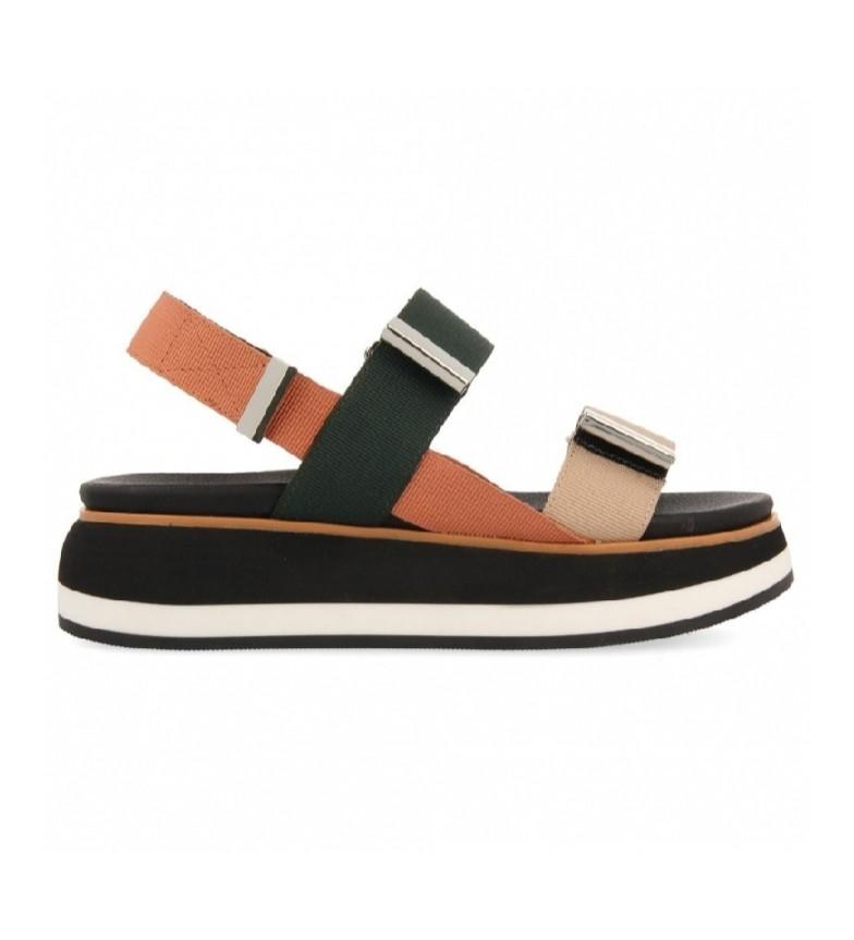 Comprar Gioseppo Urbandale sandals coral, green, beige