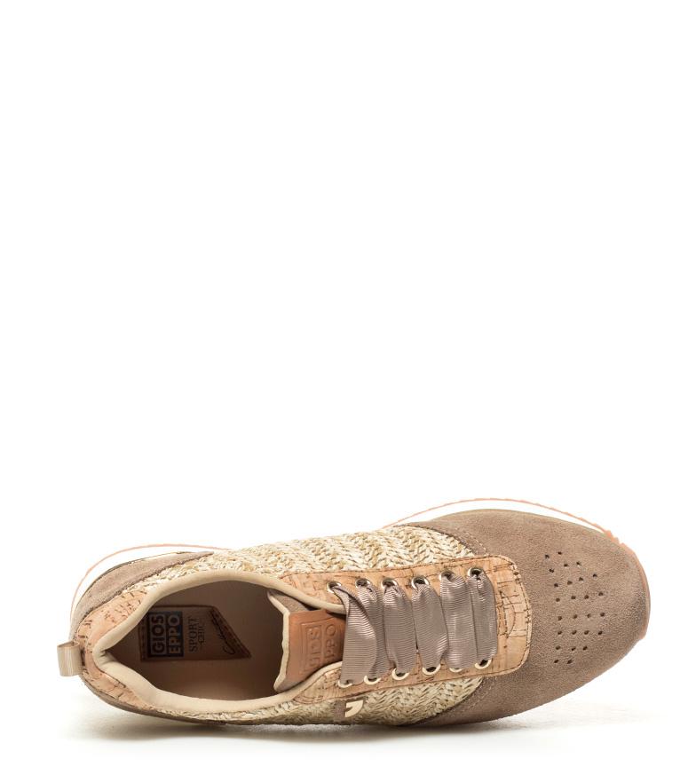 Anca Zapatillas 5cm 3 Gioseppo beige Zapatillas Anca Altura beige plataforma Gioseppo IwU7XBq