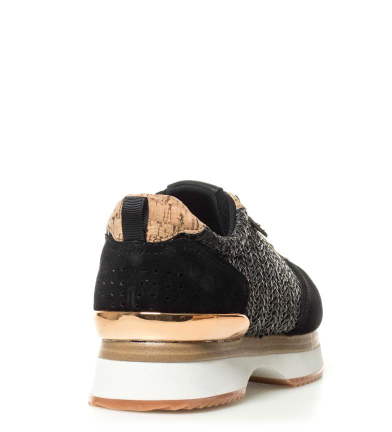 Zapatillas plataforma 3 negro Anca Gioseppo Altura 5cm HgdUqWCx