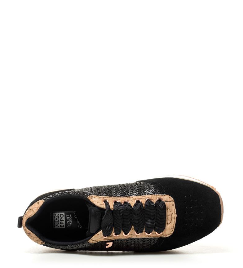 plataforma Altura Anca Gioseppo Zapatillas Zapatillas 5cm 3 Anca Gioseppo negro negro 77q8Pw0X