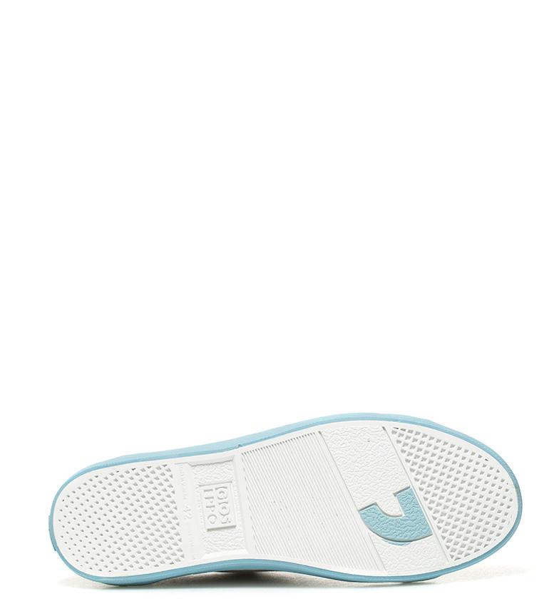 Gioseppo Zapatillas de piel Alin gris