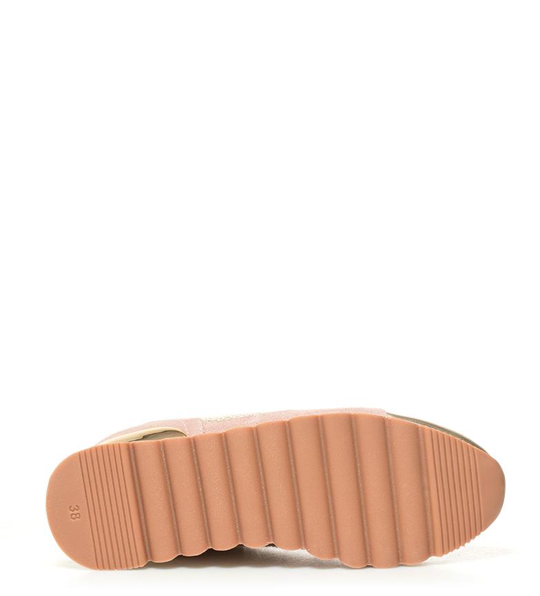 piel Altura rosa Darinka Gioseppo Zapatillas Gioseppo 6cm cuña Zapatillas de x0IqZ1