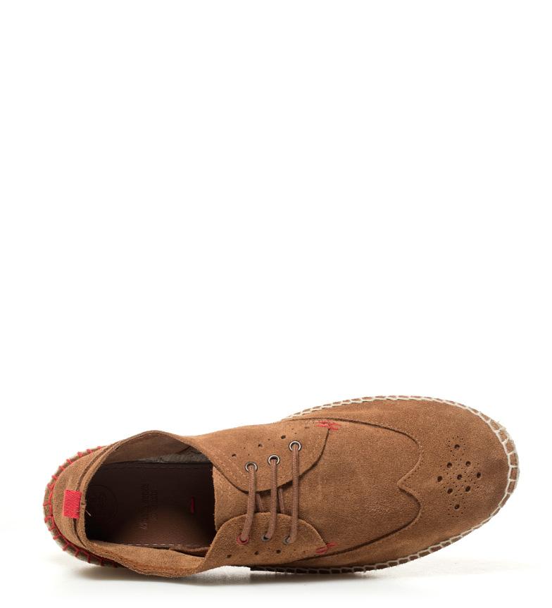 Gioseppo Zapatillas de piel Esteban marrón