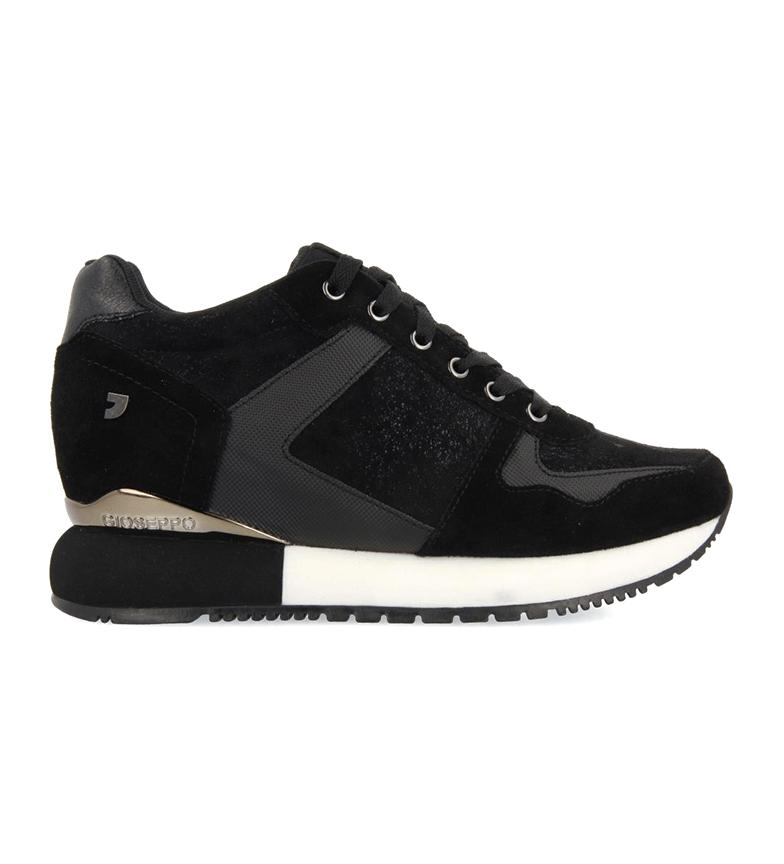 Comprar Gioseppo Chaussures en cuir Havelange noir -Hauteur de la semelle : 5,8cm