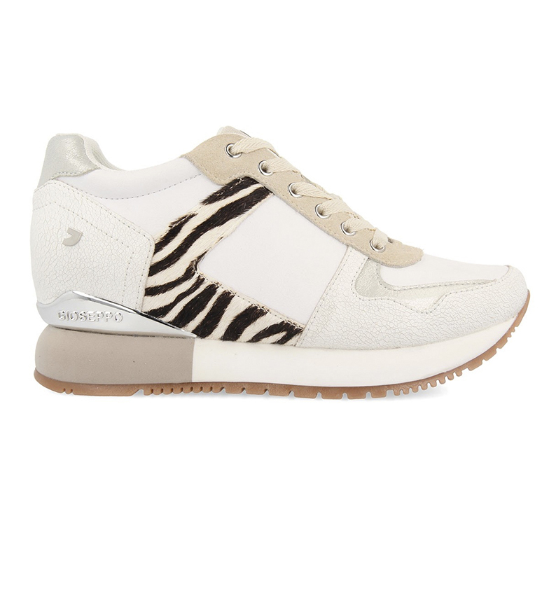 Comprar Gioseppo Meerut beige leather sneakers