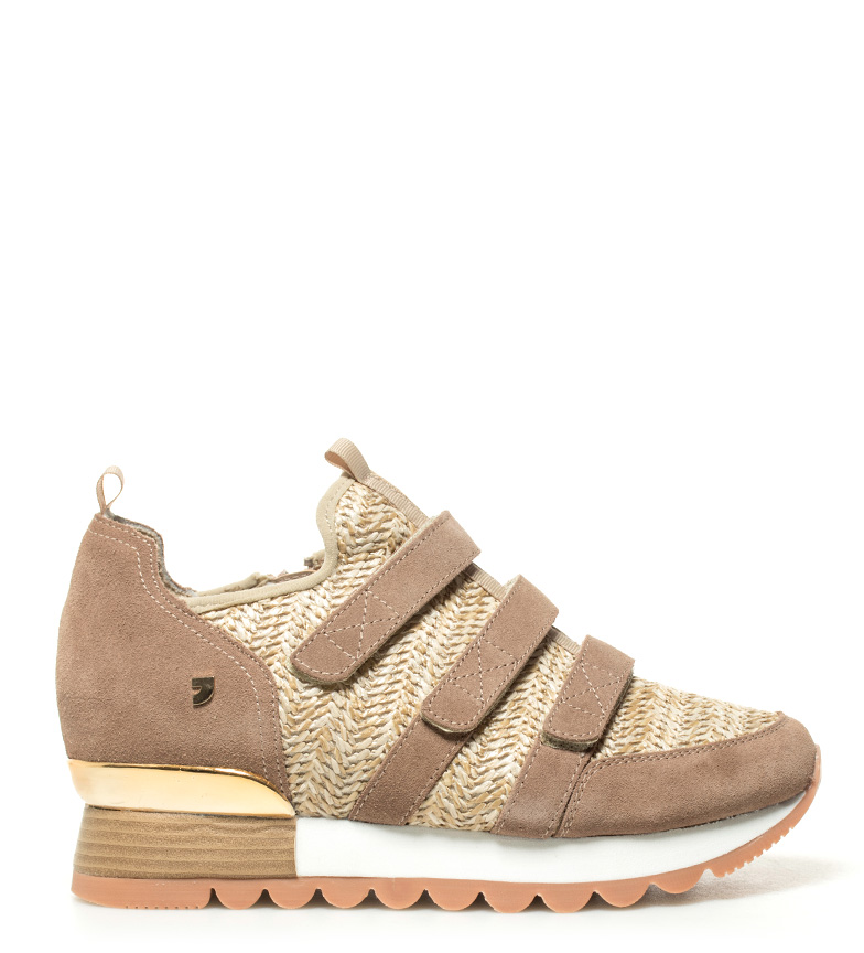 Comprar Gioseppo Sneakers in beige Pita leather - Wedge height: 6,5cm-